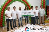 Sicredi patrocinou o 3º prêmio, no valor de R$ 3 mil reais (Foto: Folha de Naviraí/Jr Lopes)