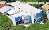 Foto aérea da sede da Associação Comercial e Empresarial de Naviraí (Foto: Divulgação)
