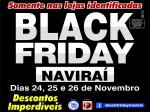 Com apoio da ACEN, começa a Black Friday Naviraí